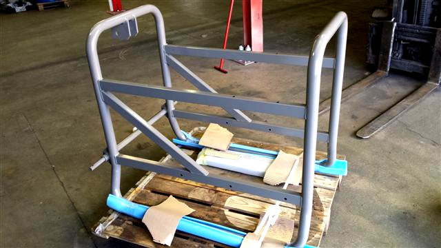 Cintrage chassis pour groupe electrogène - Atlantic Tolerie